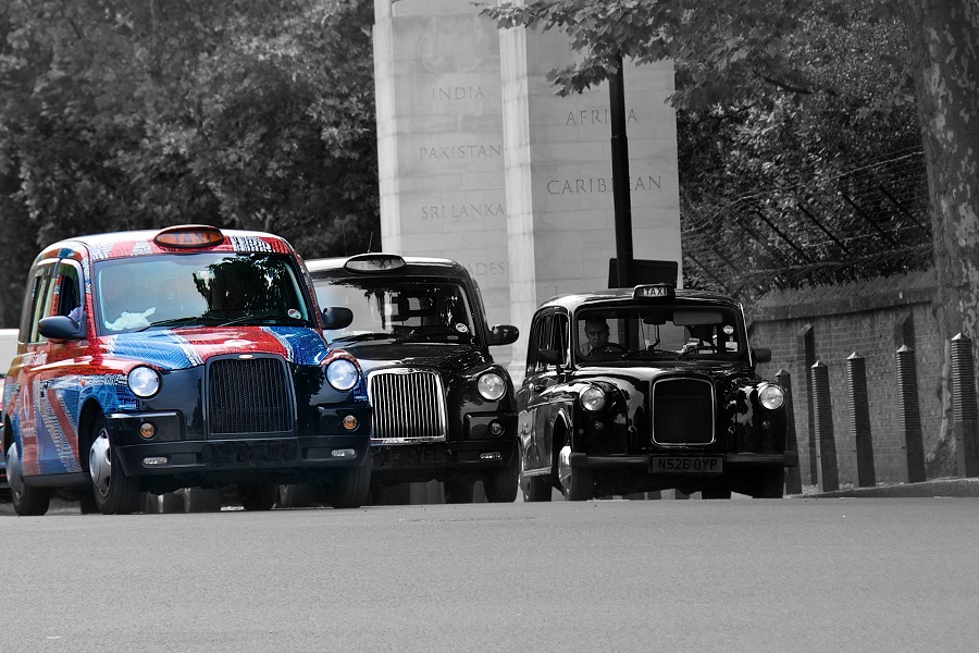Anglie Londyn, taxi.jpg