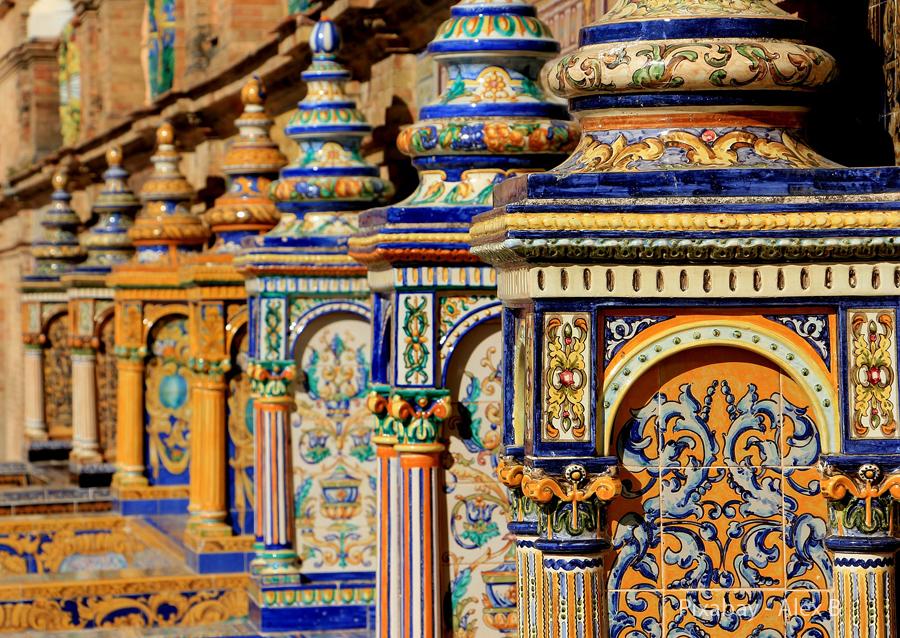Španělsko, Sevila, keramika