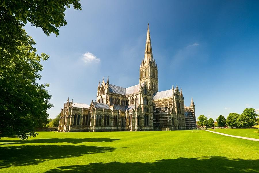 Anglie, Salisbury, Salisbury Cathedral