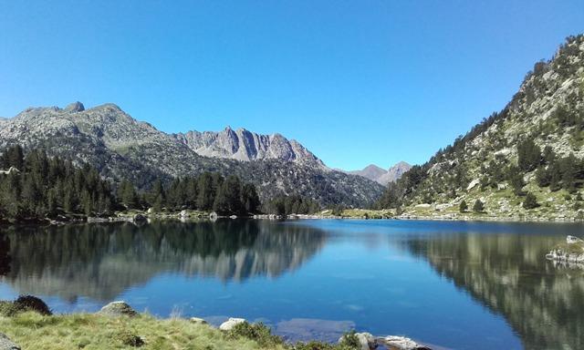 jezero Redó, NP D´Aigüestortes, Španělsko