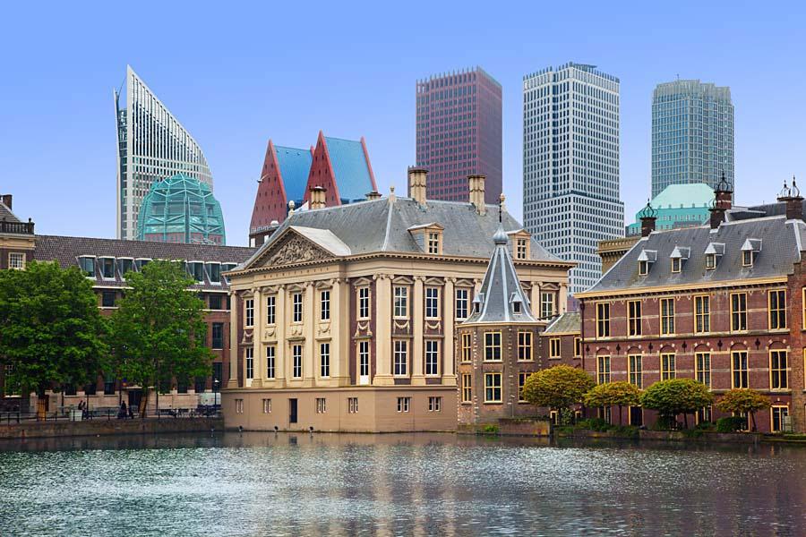 Binnenhof Palace, Haag, Nizozemsko
