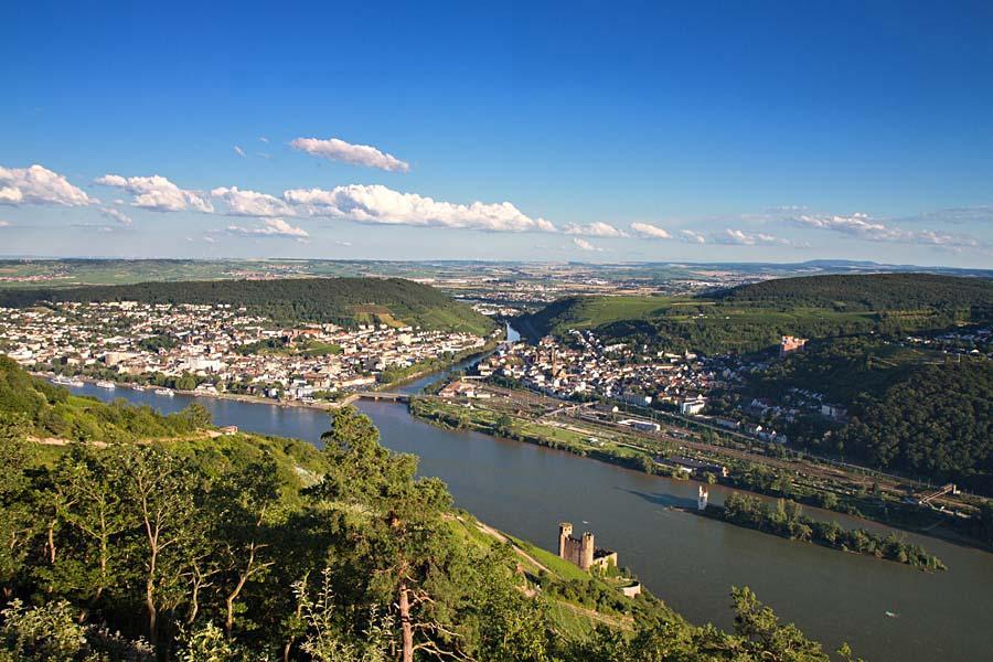 Rüdesheim, Porýní, Německo