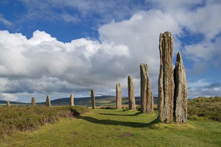 Ring of Brodgar, Orknejské ostrovy, Skotsko