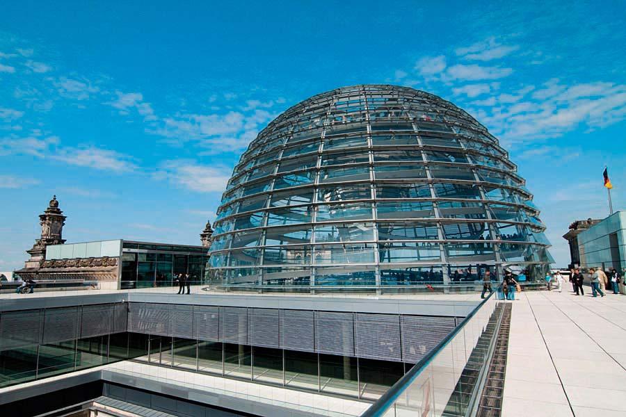 Reichstagkuppel, Berlín, Německo