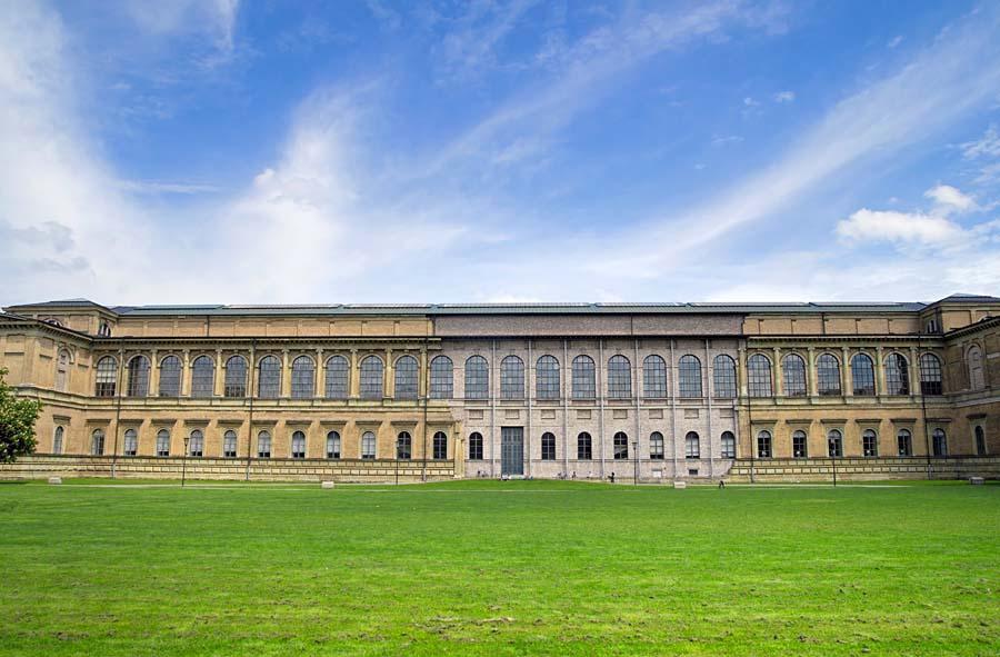 Alte Pinakothek, Mnichov, Německo