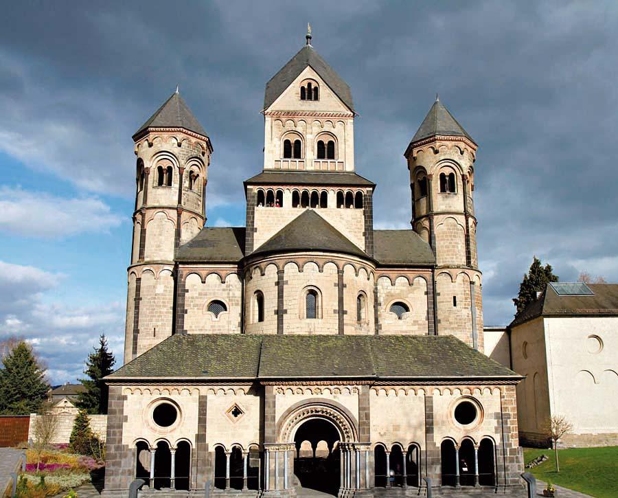 klášter Maria Laach, Německo