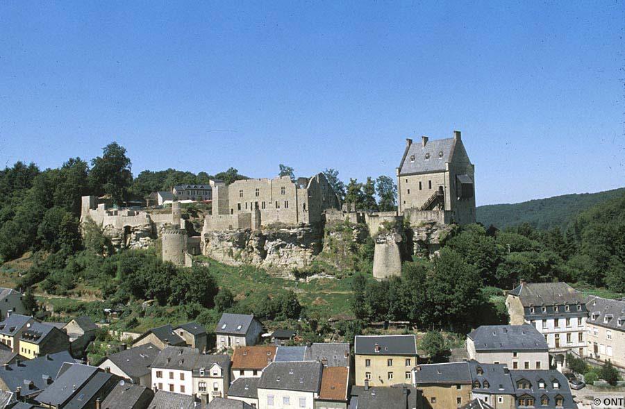 hrad Larochette, Lucembursko