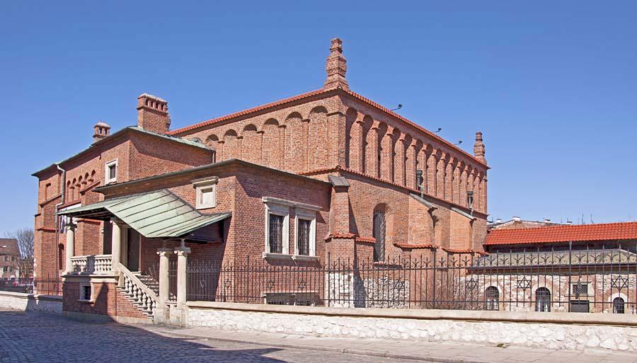 Synagoga Stara, Kazimierz, Krakov, Polsko