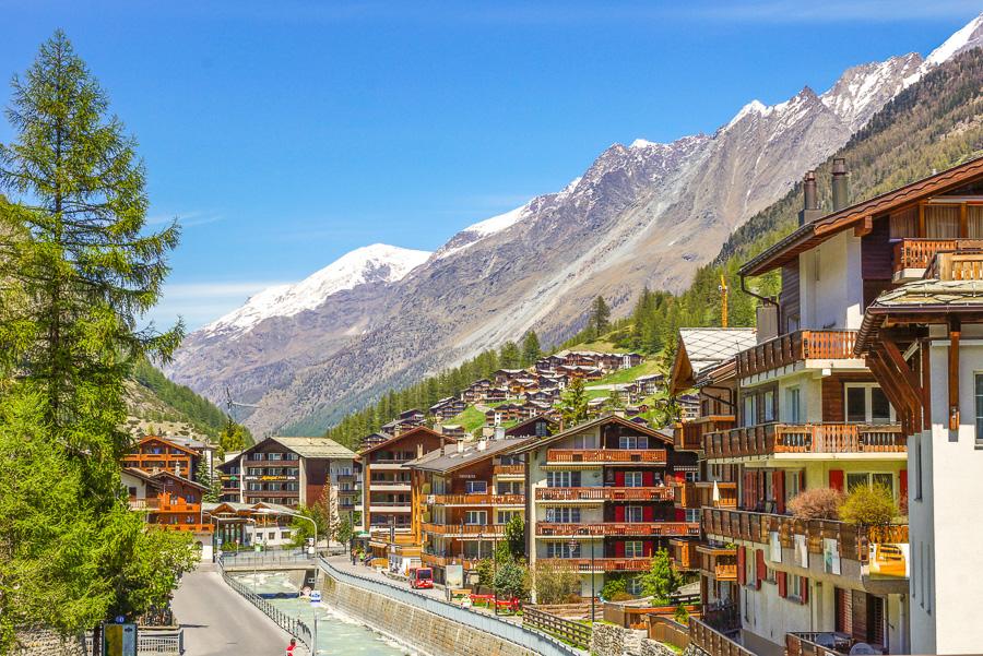 Svycarsko Zermatt