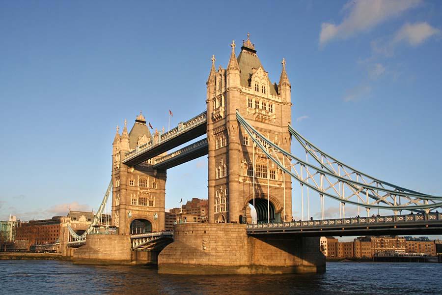 Tower Bridge, Londýn, Anglie