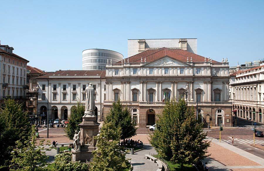 Teatro alla Scala, Miláno, Itálie