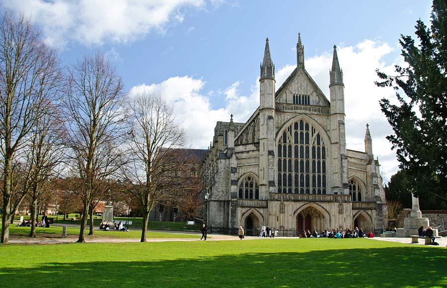 Winchester Cathedral, Anglie