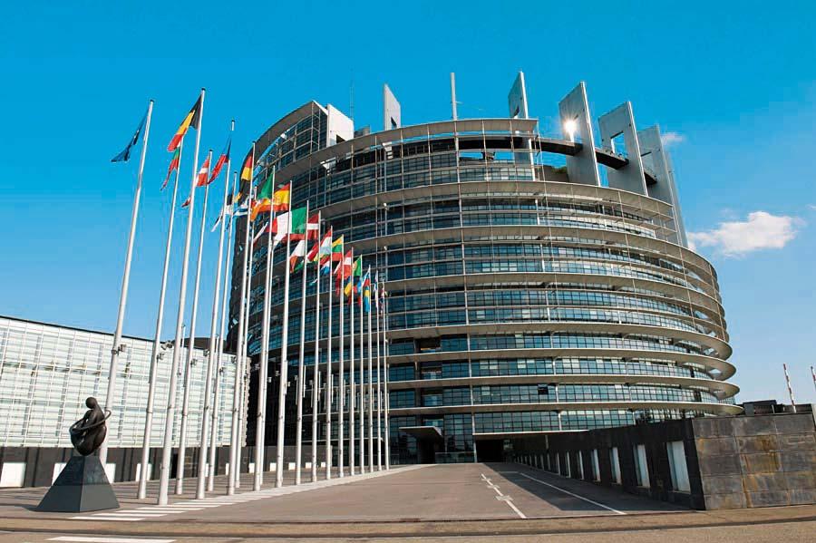 Strasbourg s návštěvou EP