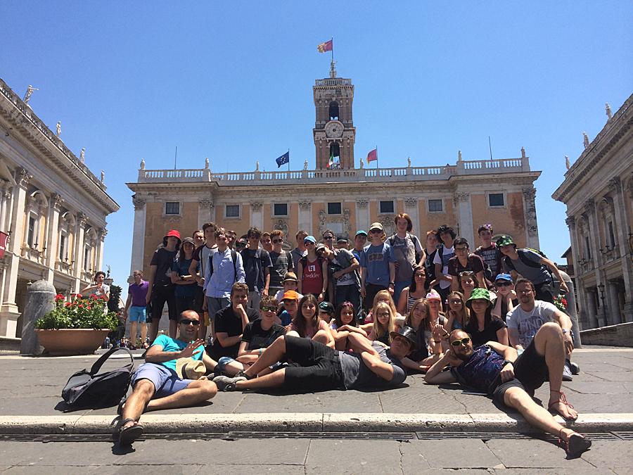17-452 G Mensa - Řím, Itálie