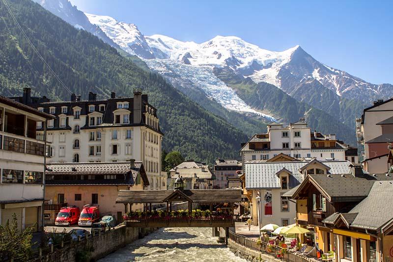 Švýcarskem k Mont Blancu