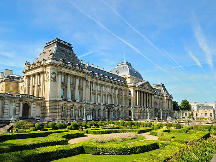 Royal Palace, Brusel, Belgie