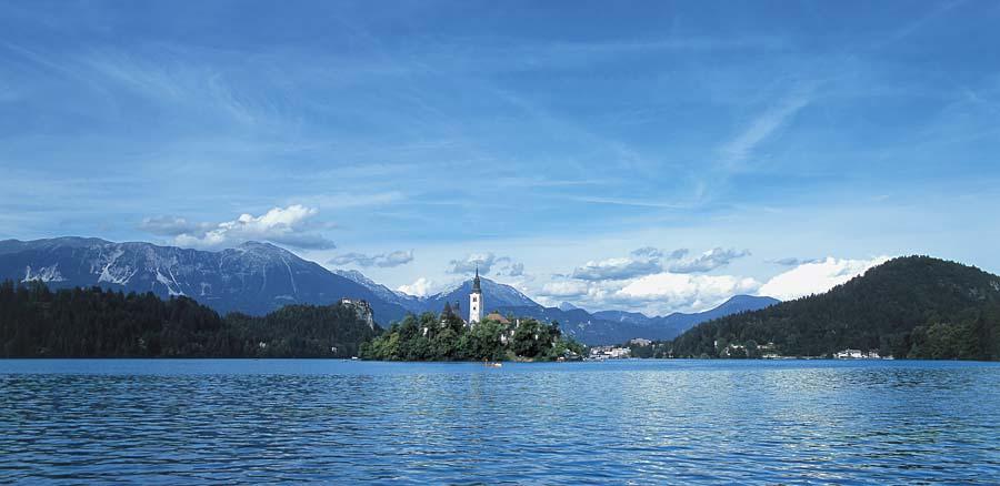 jezero Bled, Bled, Slovinsko