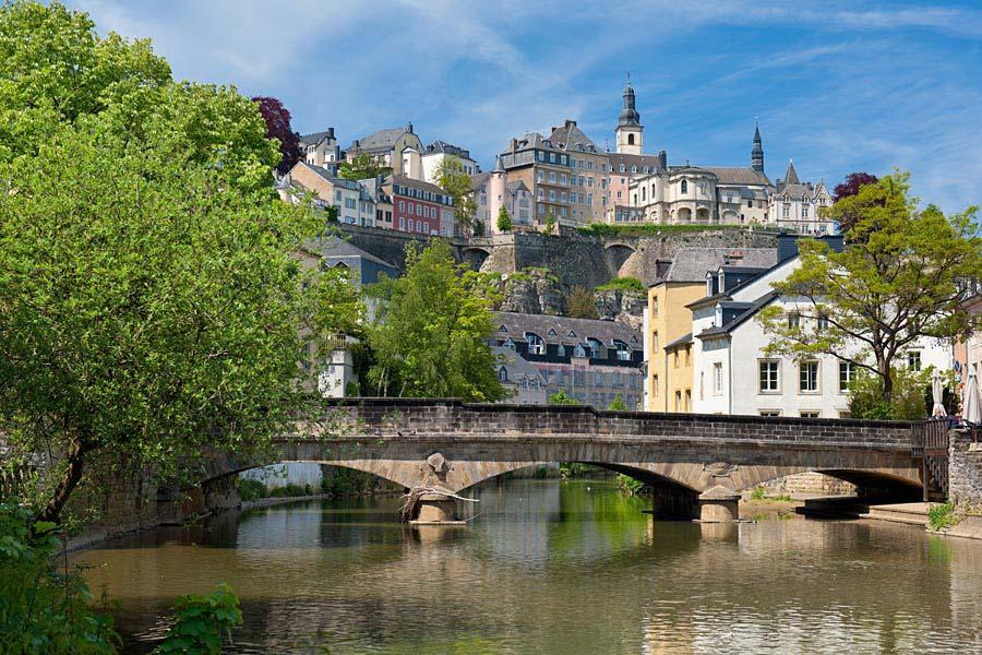 řeka Alzette, Luxembourg, Lucembursko