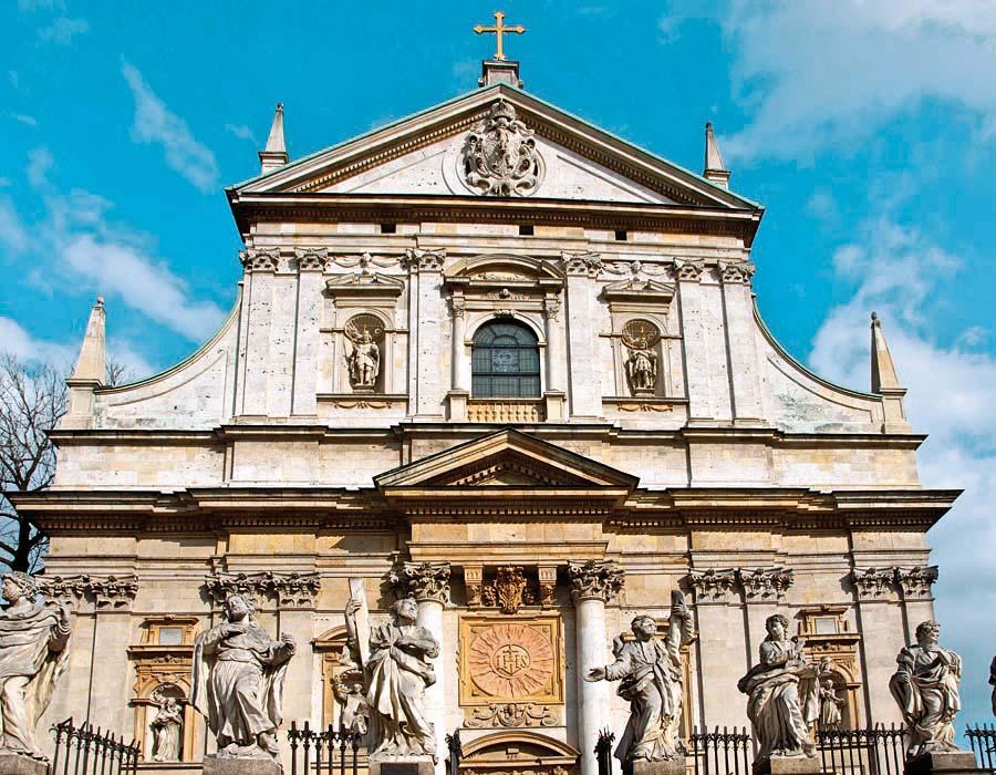 kostel sv. Petra a Pavla, Krakov, Polsko