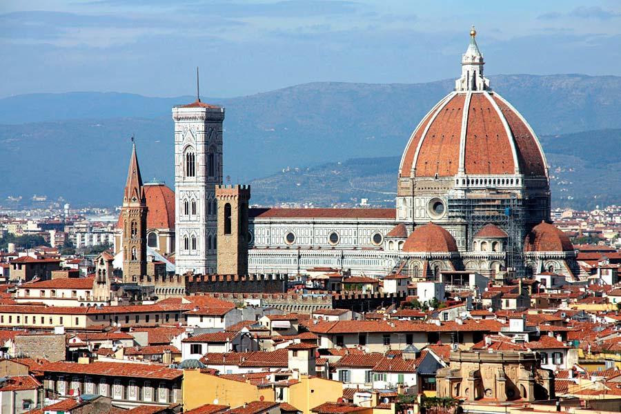 Basilica di Santa Maria del Fiore, Florencie, Itálie
