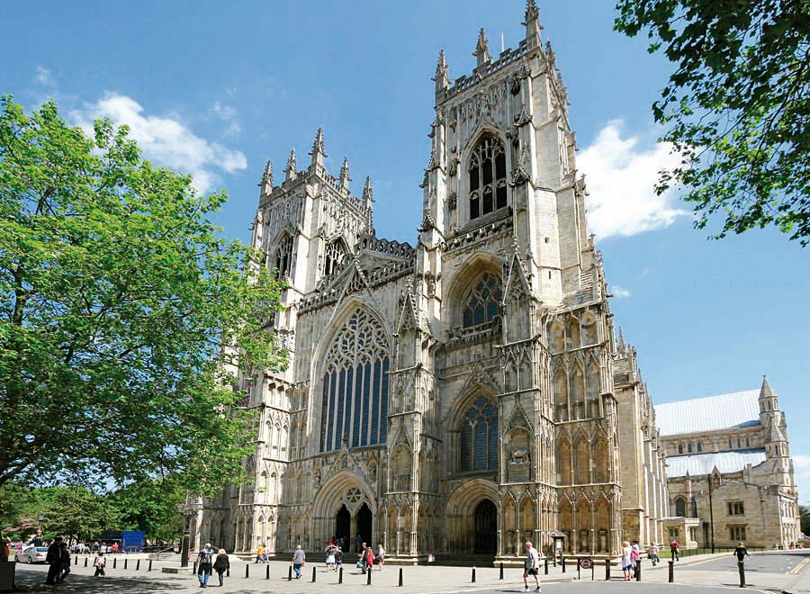 York Minster, Anglie