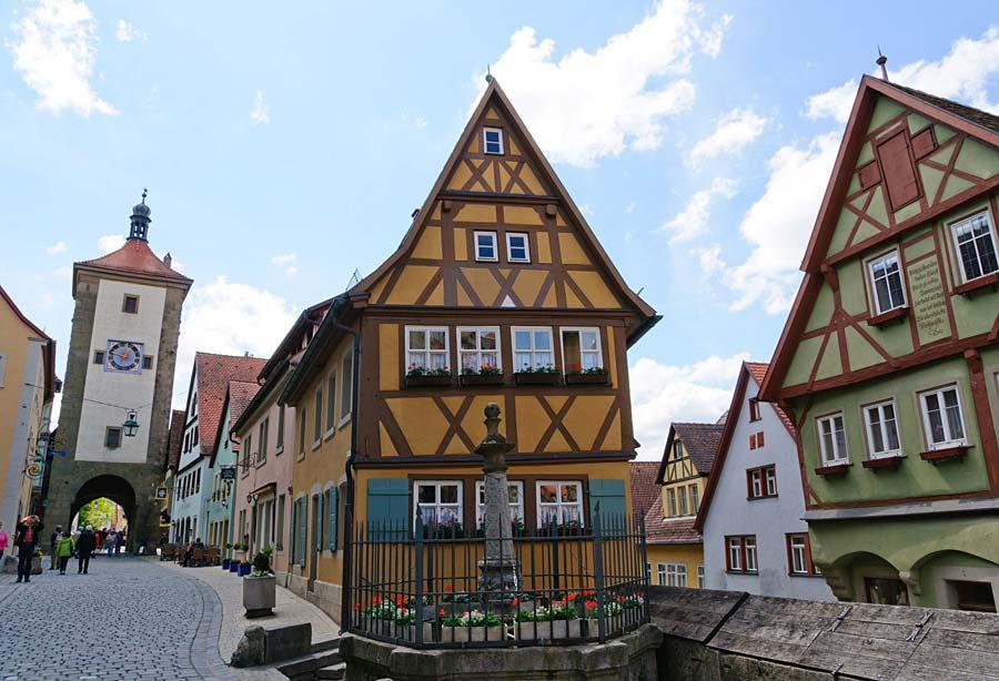 Rothenburg ob der Tauber, Německo