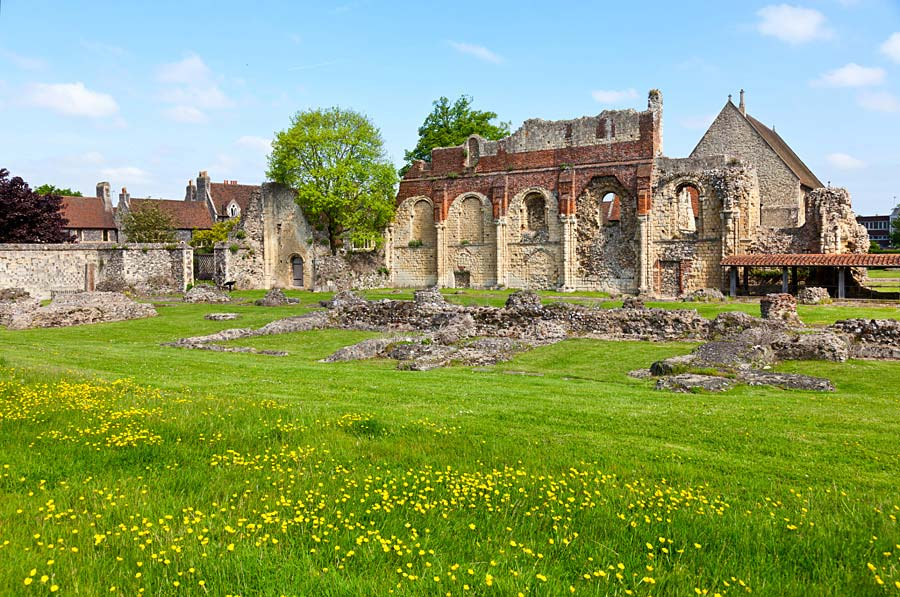 St Augustine´s Abbey, Canterbury, Anglie