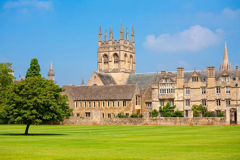 Merton College, Oxford, Anglie