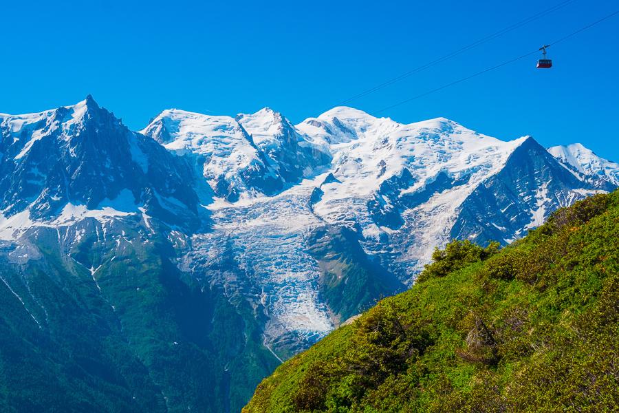 Francie Chamonix, Mont Blanc