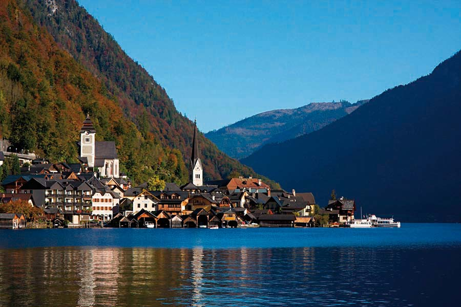 Hallstatt, Rakousko
