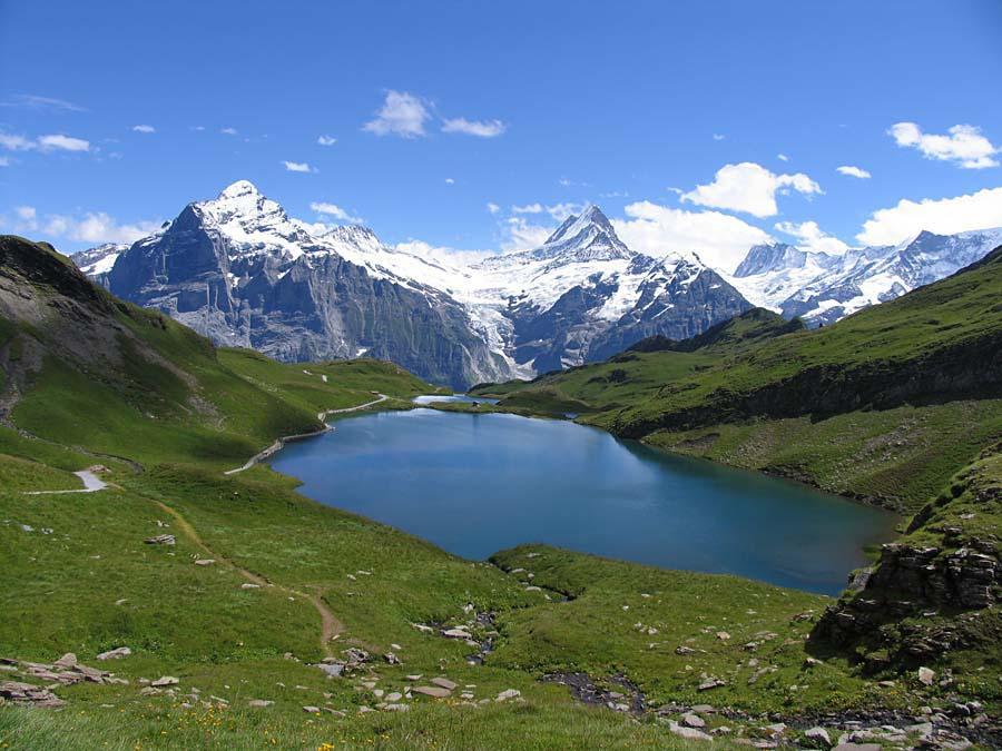 Bachalpsee, Grindelwald, Švýcarsko