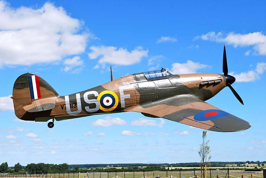 Letadlo Spitfire, Anglie