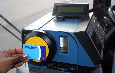 Oyster card - jak se používá