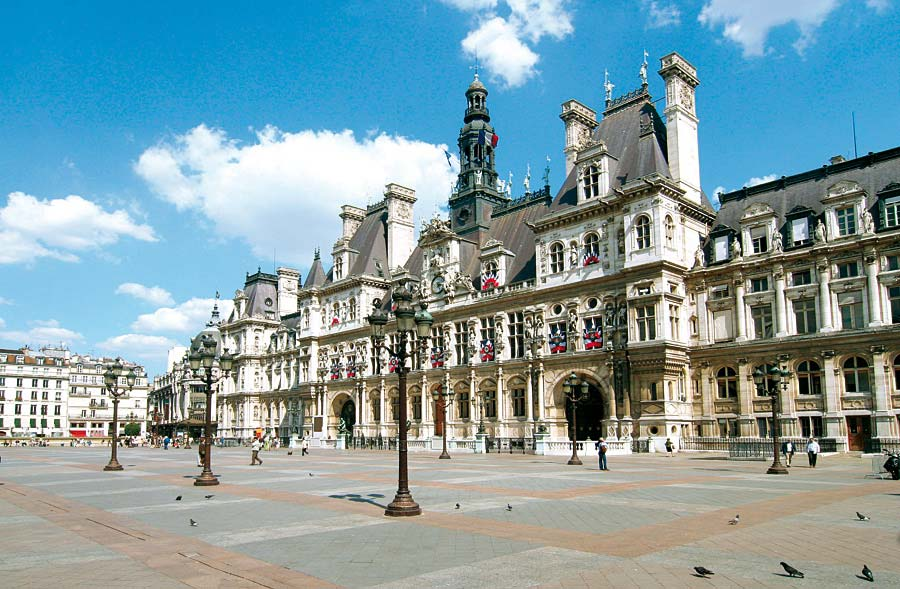 Hotel de Ville, Paříž, Francie