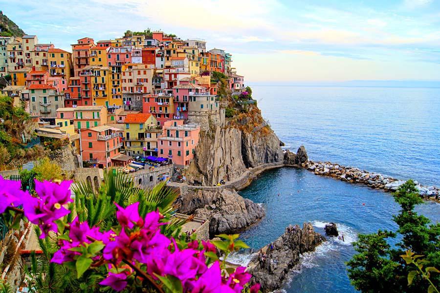 Manarola, Cinque Terre, Itálie