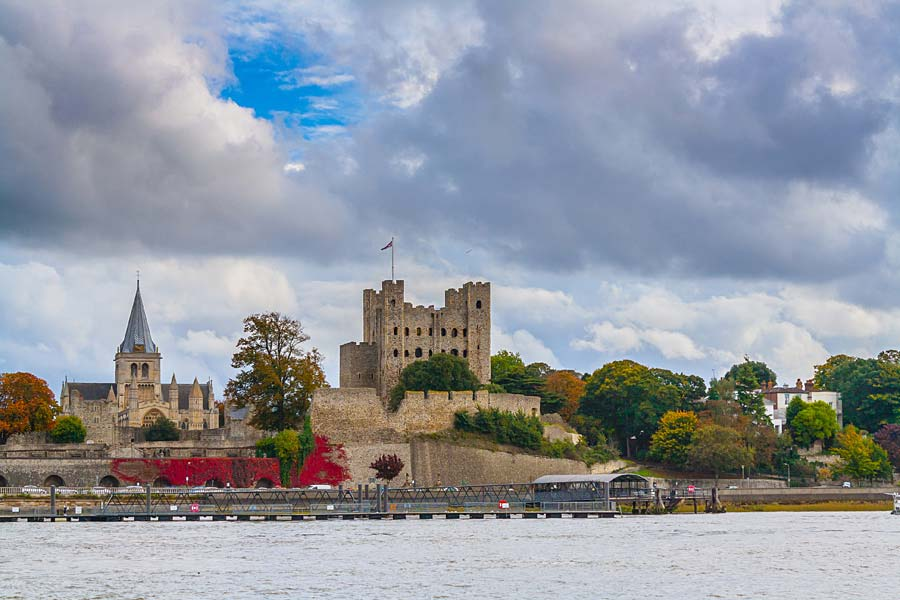 Rochester Castle, Anglie