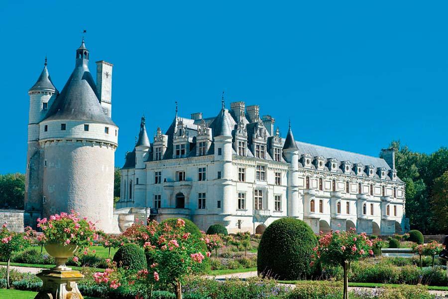 Zámek Chenonceau, Francie