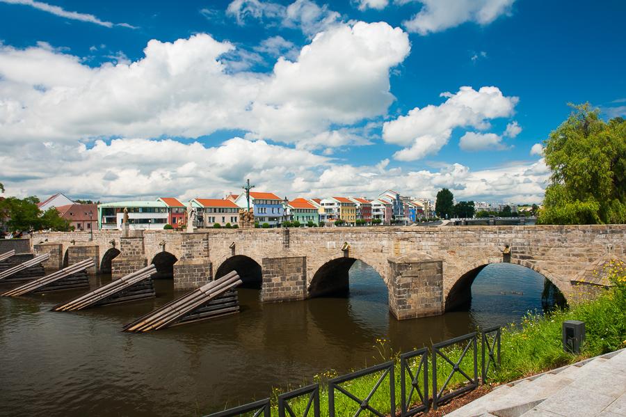 Ceska republika Pisek, Kamenny most