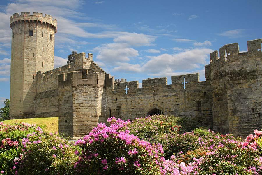 Warwick Castle, Anglie