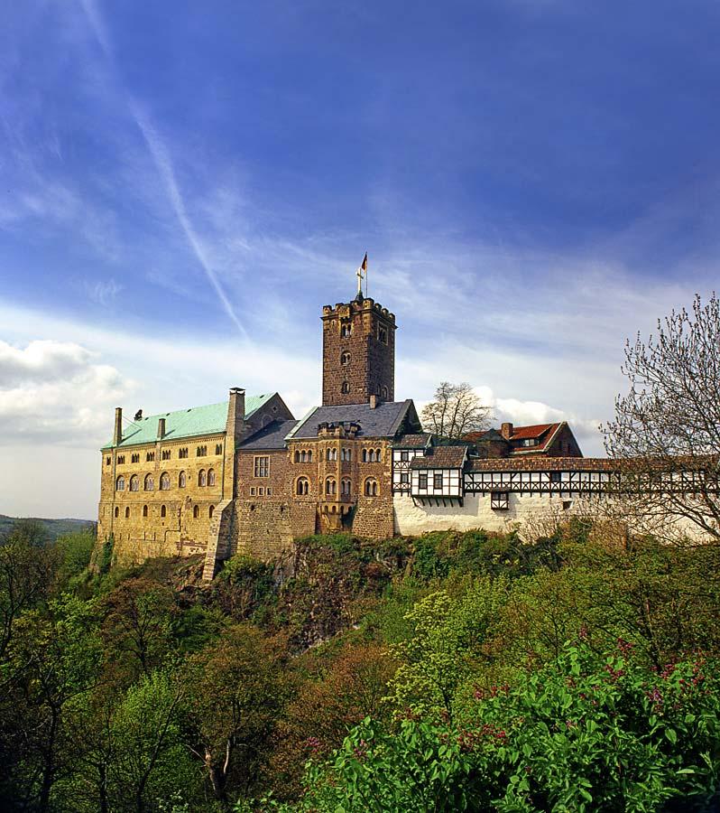 Wartburg, Německo