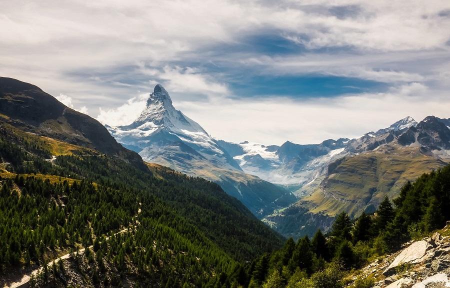 Švýcarsko Zermatt, Matterhorn