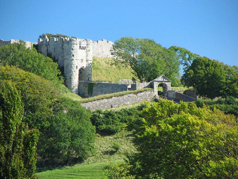 Carisbrooke Castle, Isle of Wight, Anglie