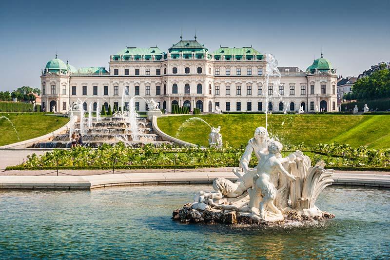 zámek Belvedere, Vídeň, Rakousko