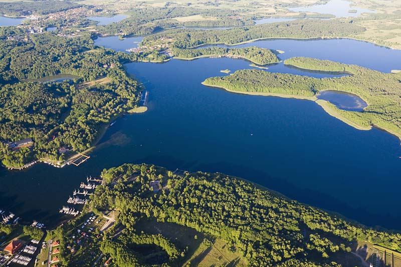 Mazurská jezera, Polsko