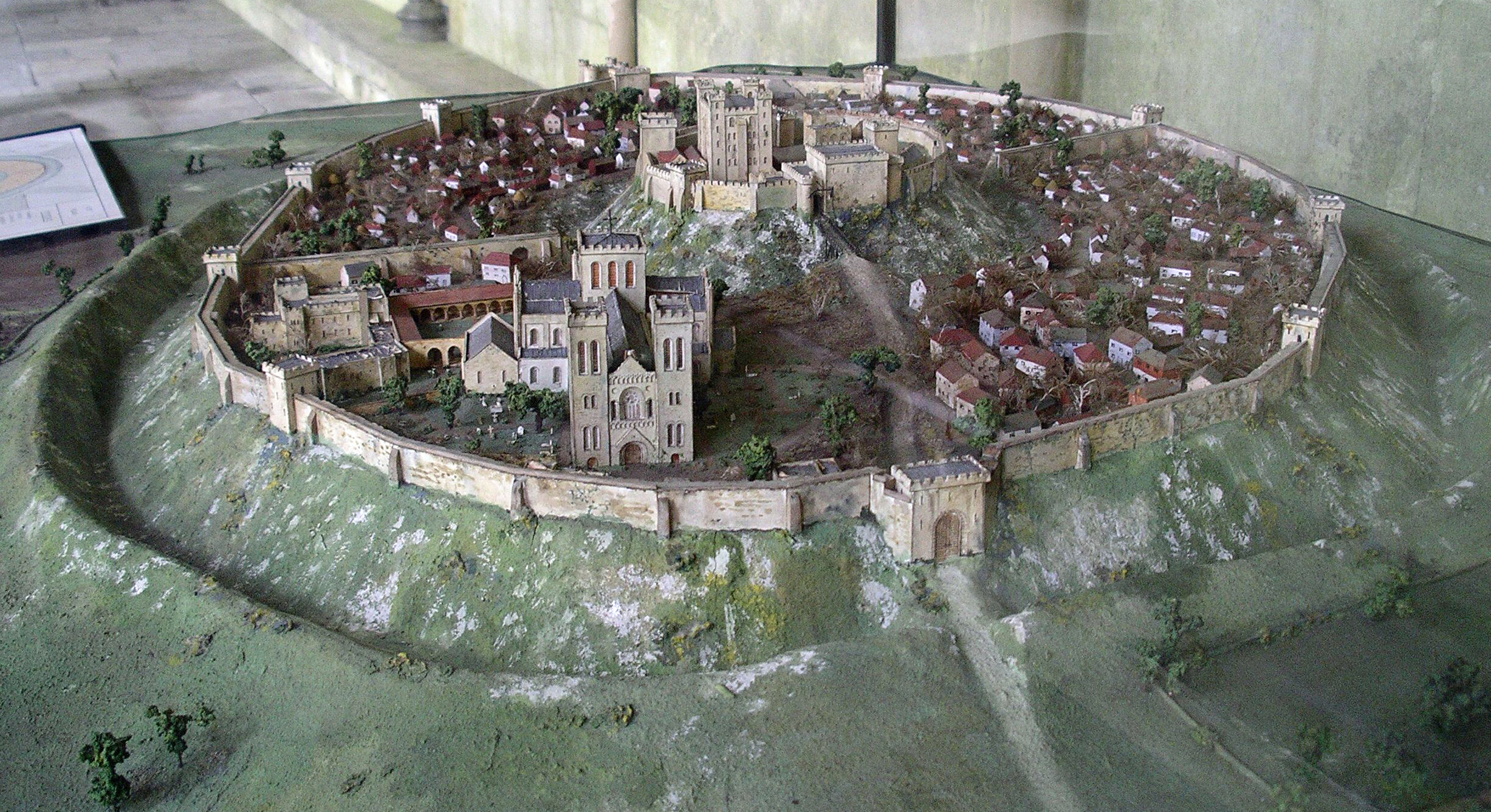 Anglie Old Sarum, model