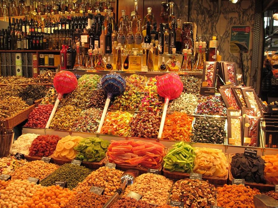 Spanelsko Barcelona, Rambla, La Boqueria