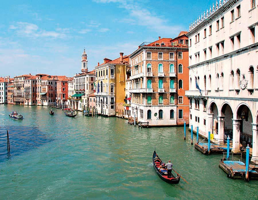 Grand canal, Benátky, Itálie