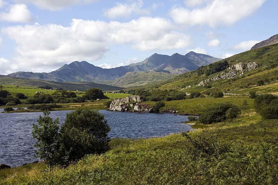 Hory a historie severního Walesu