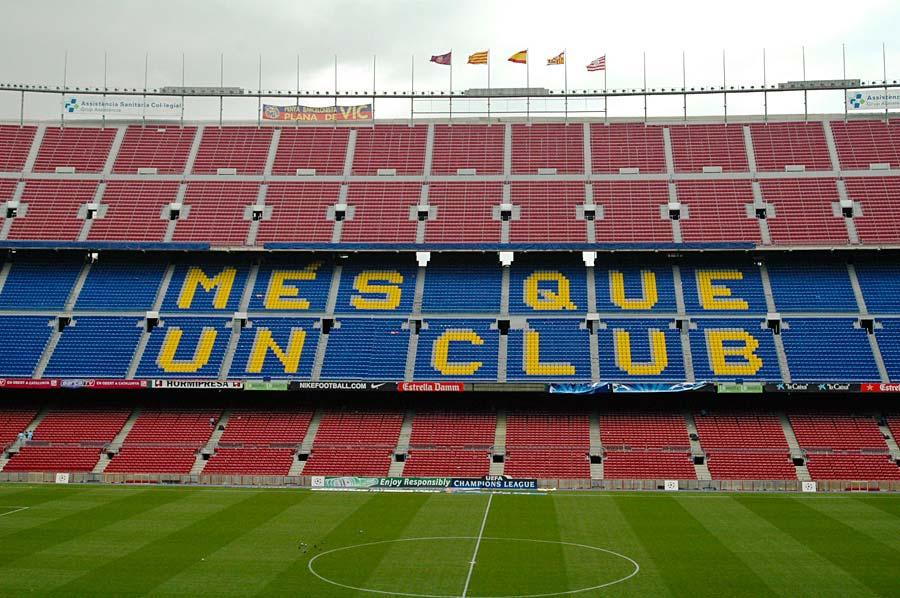 FC Barcelona Camp Nou, Barcelona, Španělsko