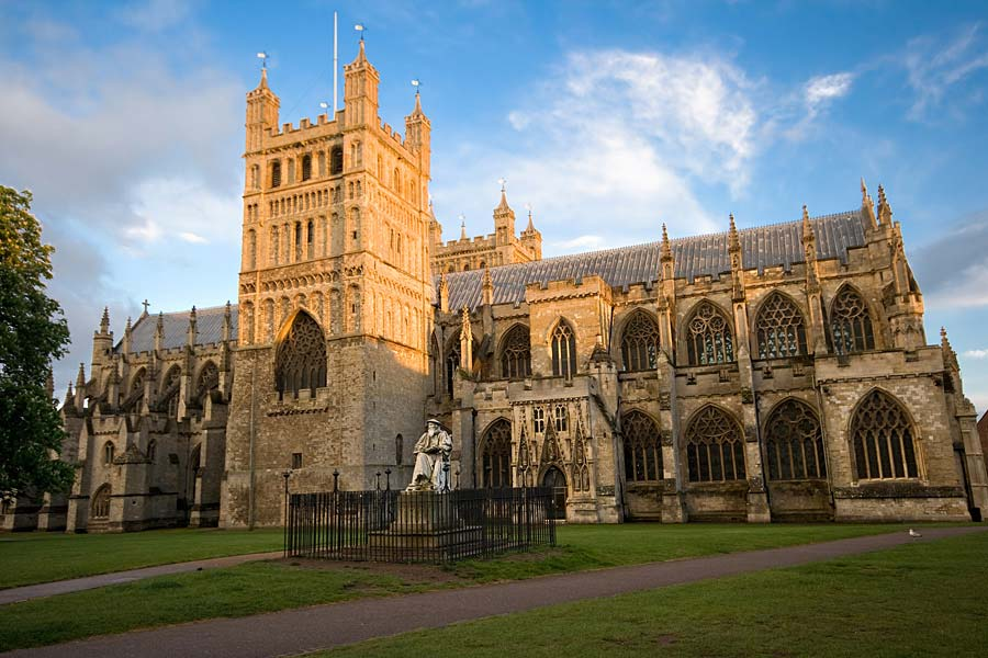 Exeter Cathedral, Exeter, Anglie